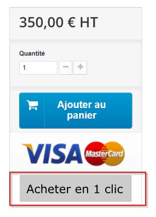 Exemple d'un bouton de paiement optimisé